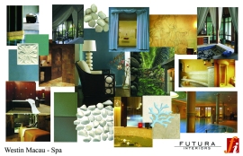 Westin Med Spa concept board small