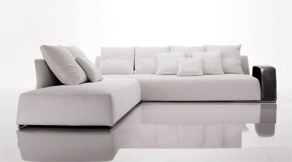 contemporary and modern white sofa for lavish living room by desiree