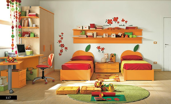 Http://architecthousedesigns.com/kids Room Design  Ideas With The Colorful Style Trends 2011.html/childrens Room Design Idea With Bright Colors Of Red White   ...